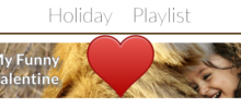 Holiday Playlist – My Funny Valentine
