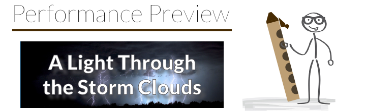 Performance Preview: Etude No. 22 – A Light Through the Storm Clouds