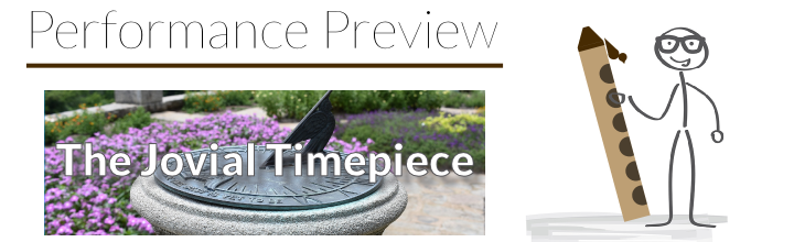 Performance Preview: Etude No. 24 – The Jovial Timepiece